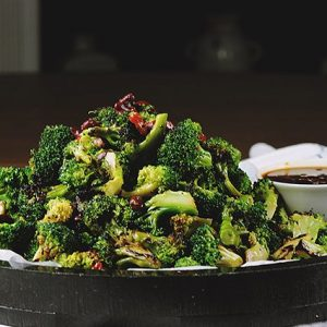 Broccoli with Chilies & Tuscan Olive Oil
